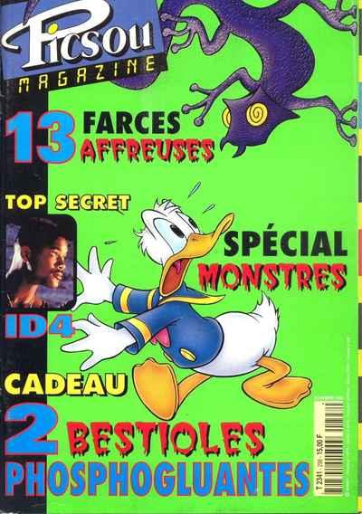 Couverture de Picsou Magazine -298- Picsou Magazine N°298