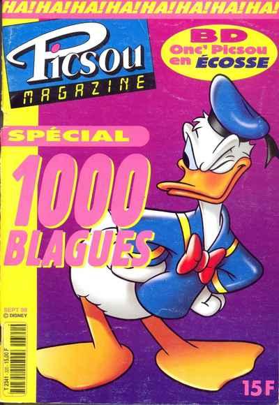 Couverture de Picsou Magazine -320- Picsou Magazine N°320