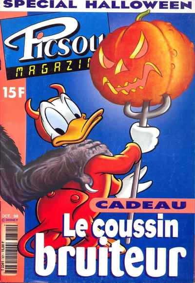 Couverture de Picsou Magazine -321- Picsou Magazine N°321