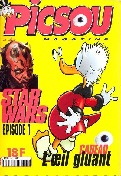 Couverture de Picsou Magazine -333- Picsou Magazine N°333