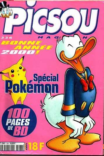 Couverture de Picsou Magazine -336- Picsou Magazine N°336