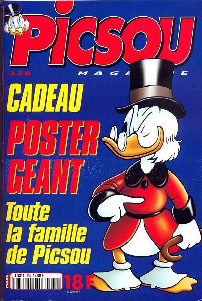 Couverture de Picsou Magazine -338- Picsou Magazine N°338