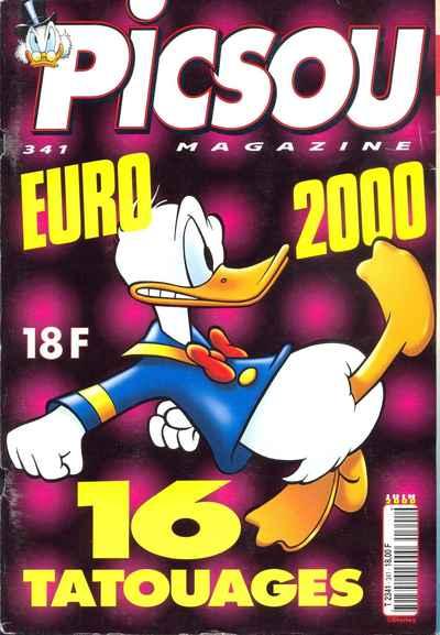 Couverture de Picsou Magazine -341- Picsou Magazine N°341