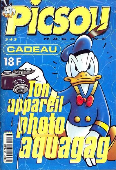 Couverture de Picsou Magazine -343- Picsou Magazine N°343
