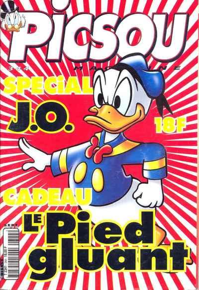 Couverture de Picsou Magazine -344- Picsou Magazine N°344