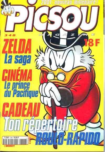 Couverture de Picsou Magazine -348- Picsou Magazine N°348