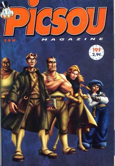 Couverture de Picsou Magazine -359- Picsou Magazine N°359