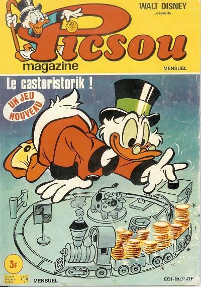Couverture de Picsou Magazine -35- Picsou Magazine N°35