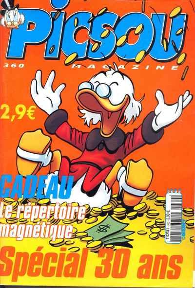 Couverture de Picsou Magazine -360- Picsou Magazine N°360