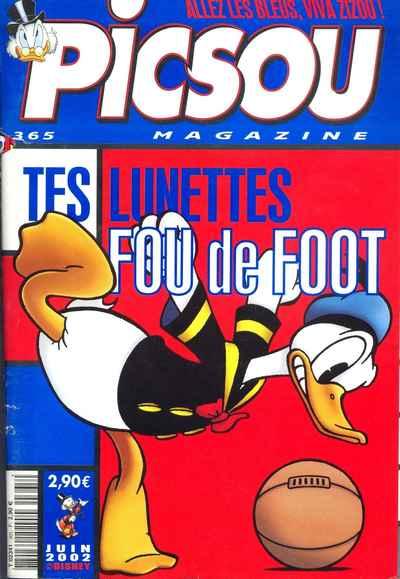 Couverture de Picsou Magazine -365- Picsou Magazine N°365