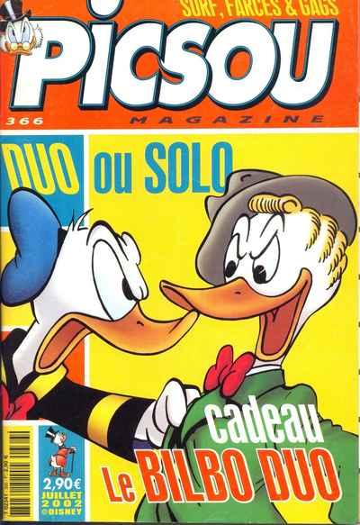 Couverture de Picsou Magazine -366- Picsou Magazine N°366