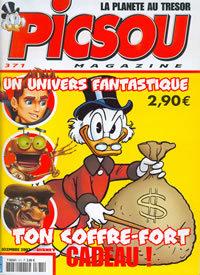 Couverture de Picsou Magazine -371- Picsou Magazine N°371