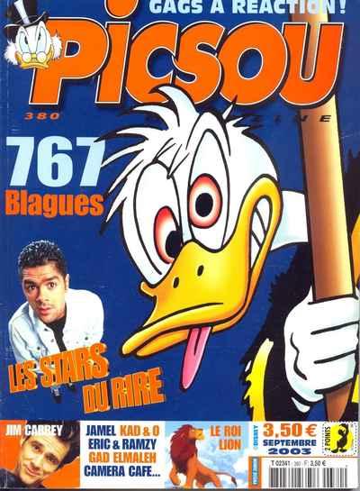 Couverture de Picsou Magazine -380- Picsou Magazine N°380