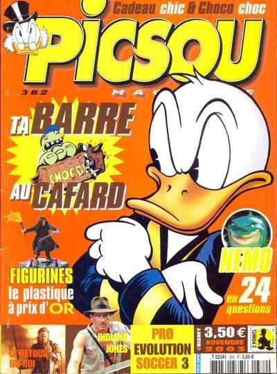 Couverture de Picsou Magazine -382- Picsou Magazine N°382