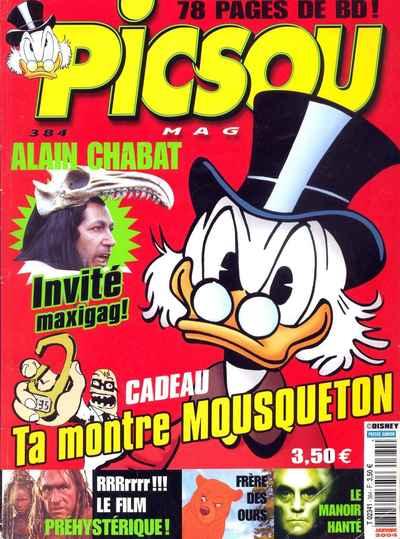 Couverture de Picsou Magazine -384- Picsou Magazine N°384
