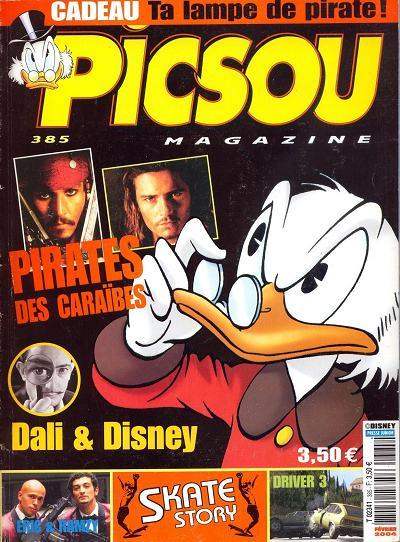 Couverture de Picsou Magazine -385- Picsou Magazine N°385
