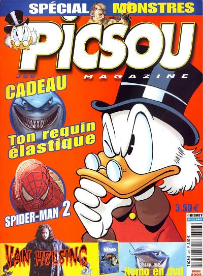 Couverture de Picsou Magazine -388- Picsou Magazine N°388