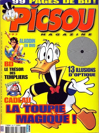 Couverture de Picsou Magazine -393- Picsou Magazine N°393
