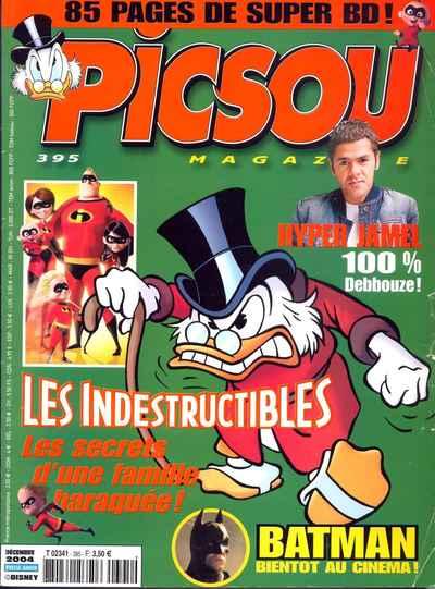 Couverture de Picsou Magazine -395- Picsou Magazine N°395