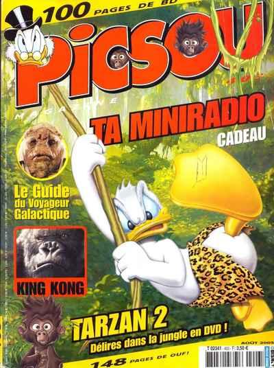 Couverture de Picsou Magazine -403- Picsou Magazine N°403