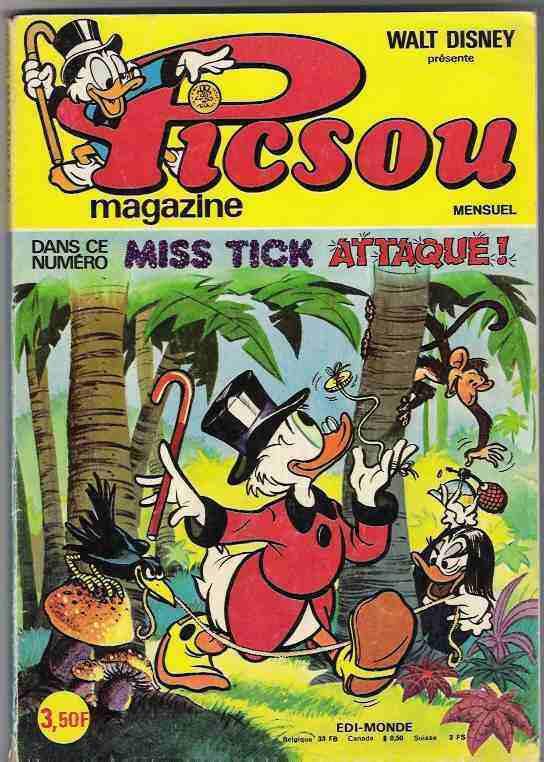 Couverture de Picsou Magazine -40- Picsou Magazine N°40