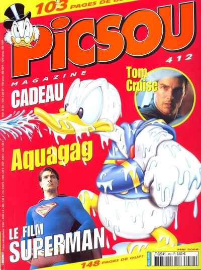 Couverture de Picsou Magazine -412- Picsou Magazine N°412