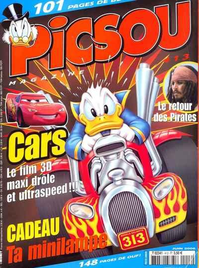Couverture de Picsou Magazine -413- Picsou Magazine N°413