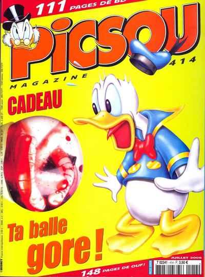 Couverture de Picsou Magazine -414- Picsou Magazine N°414