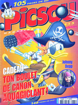 Couverture de Picsou Magazine -415- Picsou Magazine N°415