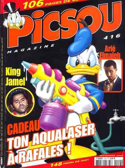 Couverture de Picsou Magazine -416- Picsou Magazine N°416