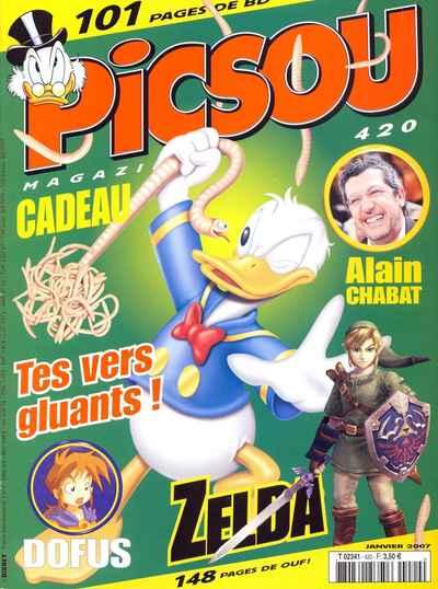 Couverture de Picsou Magazine -420- Picsou Magazine N°420