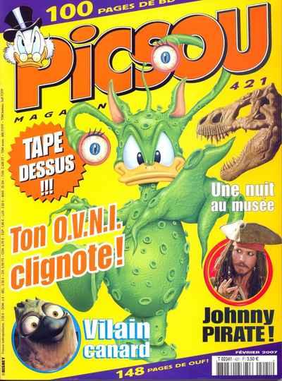 Couverture de Picsou Magazine -421- Picsou Magazine N°421