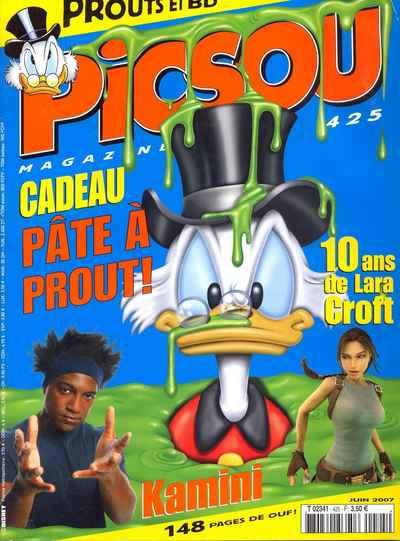 Couverture de Picsou Magazine -425- Picsou Magazine N°425