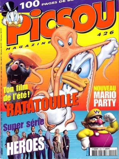 Couverture de Picsou Magazine -426- Picsou Magazine N°426