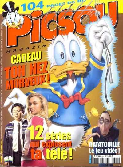Couverture de Picsou Magazine -428- Picsou Magazine N°428