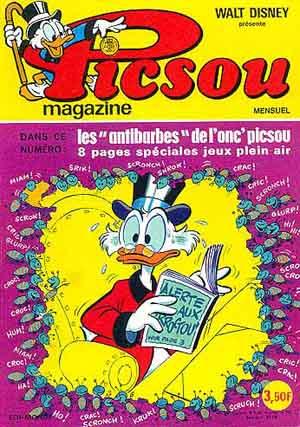Couverture de Picsou Magazine -42- Picsou Magazine N°42
