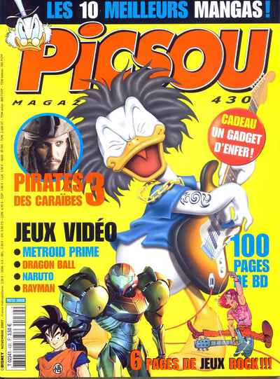 Couverture de Picsou Magazine -430- Picsou Magazine N°430