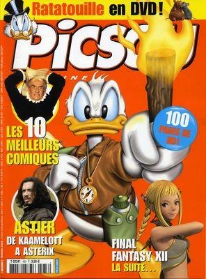 Couverture de Picsou Magazine -433- Picsou Magazine N°433