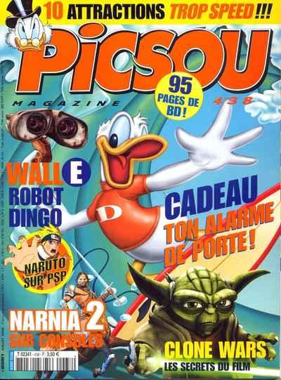 Couverture de Picsou Magazine -438- Picsou Magazine N°438