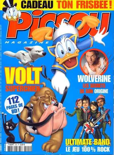 Couverture de Picsou Magazine -445- Picsou Magazine N°445