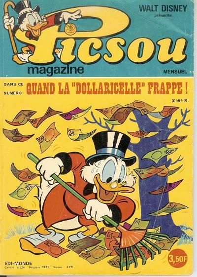 Couverture de Picsou Magazine -44- Picsou Magazine N°44
