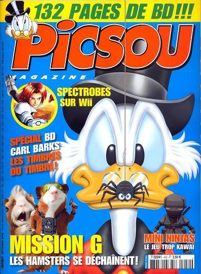 Couverture de Picsou Magazine -452- Picsou Magazine N°452