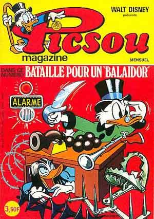 Couverture de Picsou Magazine -45- Picsou Magazine N°45