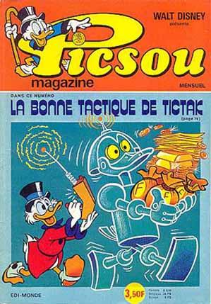 Couverture de Picsou Magazine -46- Picsou Magazine N°46