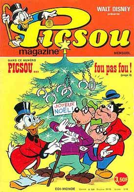 Couverture de Picsou Magazine -47- Picsou Magazine N°47