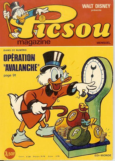 Couverture de Picsou Magazine -49- Picsou Magazine N°49