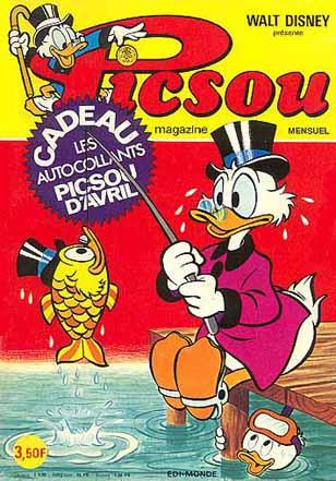Couverture de Picsou Magazine -50- Picsou Magazine N°50