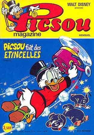 Couverture de Picsou Magazine -52- Picsou Magazine N°52
