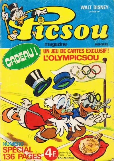 Couverture de Picsou Magazine -54- Picsou Magazine N°54