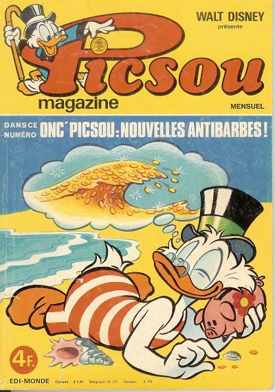 Couverture de Picsou Magazine -55- Picsou Magazine N°55
